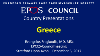 EPCCS Council - Country Presentations