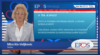 EPCCS Council member Dr Mira Kis-Veljkovic provides a brief overview of the current organisation of primary care in Serbia