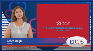 EPCCS Council member dr. Zehra Dagli provides a brief overview of the current organisation of primary care in Turkey