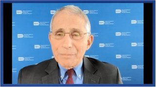 Anthony Fauci gives a presentation on COVID-19: Public health and scientific challenges.